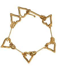 Givenchy Heart Bracelet - Geel