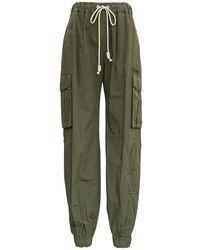 Palm Angels Cargo Pants - Vert