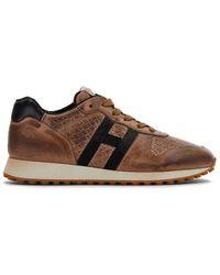 Hogan H429 Sneaker H Nastro - Bruin