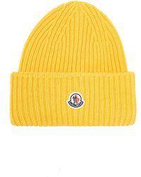 Moncler Wool hat - Giallo