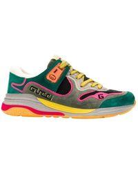 Gucci Ultrapace Sneakers - Zwart