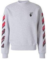 Off-White c/o Virgil Abloh Arrow Marker Sweatshirt - Grijs