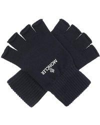 Moncler Fingerless Gloves - Blauw