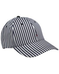 Tommy Hilfiger Cap Stripes - Blanc