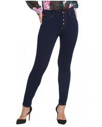 Guess Pantalon avec poches - Bleu