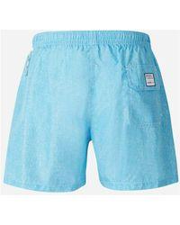 Fedeli Textured Swimsuit Azul