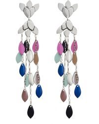 Isabel Marant Earrings With Charms - Grijs