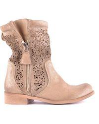 Candice Cooper Boots - Geel