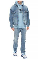 Balenciaga Distressed jeans Azul