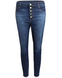 J Brand - Lily Arcade High Rise Crop Skinny Jeans - Lyst