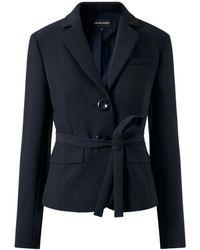 Emporio Armani Jacket - Blau