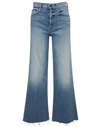 Mother Jeans Tomcat Roller Fray We The Animals - Blauw