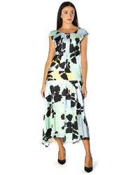 Manila Grace Long Dress - Blau