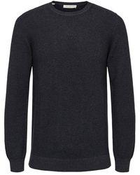 SELECTED Sweater Gestructureerde - Zwart