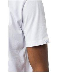 Replay - T-Shirt Blanco - Lyst