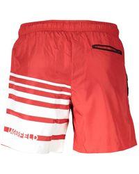 Karl Lagerfeld Beachwear Zwembroek - Rood