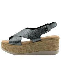 Oh My Sandals Calzado sandalia - Gris