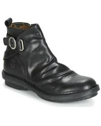 Fly London Boots - Rye Diesel - Zwart
