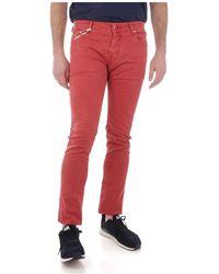 Jacob Cohen 5P Comfort Jeans - Rot