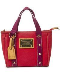 Louis Vuitton Cruise Collection Antigua Cabas - Rosso