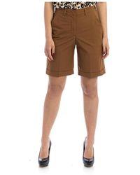Seventy Bermuda Shorts - Marrone