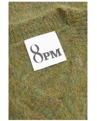 8pm Pullover mit Mohair Verde