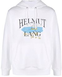 Helmut Lang Hoodie - Wit
