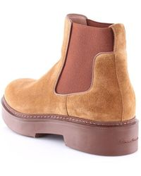 Santoni Wthw58932Cuonpy boots - Marron
