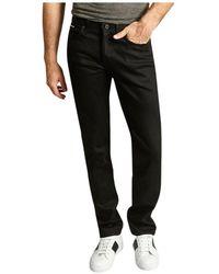 Naked & Famous Weirdguy Guy Jeans Cobra Stretch - Zwart