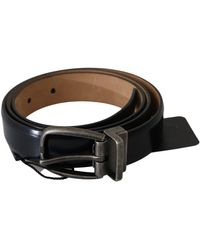 Dolce & Gabbana Oval Buckle Waist Belt - Meerkleurig