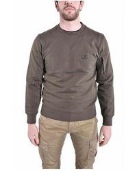 C.P. Company Sweatshirts Crew Neck (10Cmss045B - Vert