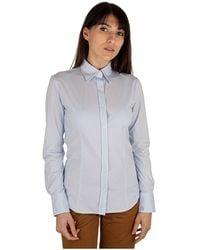 Rrd Shirt Oxford Jacquard - Blauw