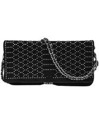 Zadig & Voltaire Rock Bag In Leather - Zwart