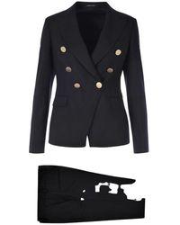 Tagliatore Suit - Zwart