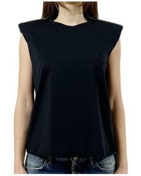 FEDERICA TOSI - T-shirt Smanicata - Lyst