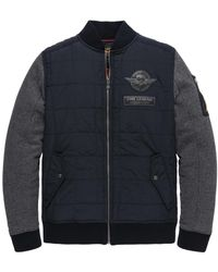 PME LEGEND Jacket Track Sweat - Blauw