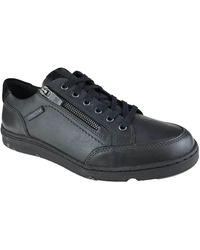 Mephisto Herenschoenen Sneaker - Zwart