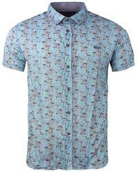 Gabbiano Shirt 33871 - Blauw