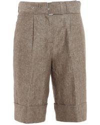 Peserico Shorts - Bruin