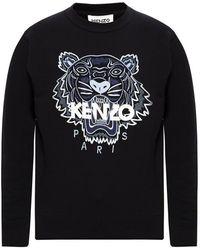 KENZO Sweatshirt Tiger - Zwart