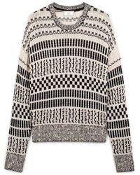 AMI Oversize Crewneck Sweater - Grigio