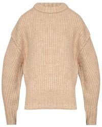 Holzweiler Ribbed Sweater - Naturel