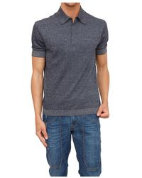 Ermenegildo Zegna Polo Shirt - Blauw