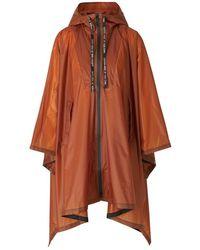 Dorothee Schumacher Waterproof Coat Bag It Out - Marron