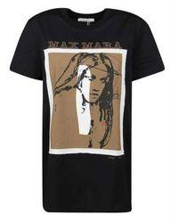Max Mara T-shirt - Schwarz