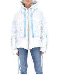 Khrisjoy Oversized puffer jacket Blanco