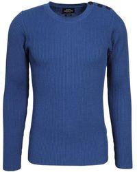 Mads Nørgaard Pullover aus wolle - Bleu