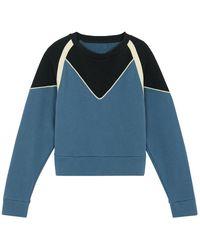 Ba&sh Brick sweatshirt - Bleu