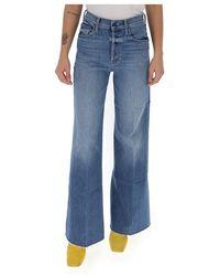 Mother Wide-leg jeans - Bleu