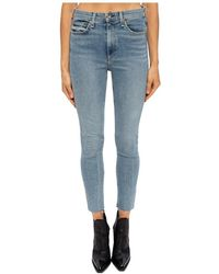 Rag & Bone - High-rise Jeans - Lyst